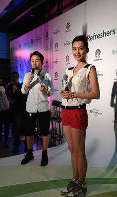 Fala Chen. Love this outfit.