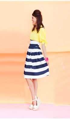 Color Pop! Vintage and Retro Clothing | Nautical Navy