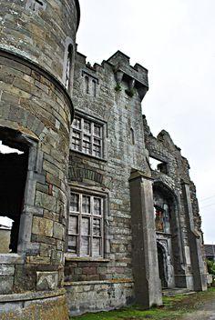 Ballyheigue castle ruins County Kerry, Ireland 6.2013