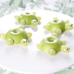 Schildpadjes van appel.