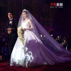 Long 2T White Bid 400cm Cathedral Wedding Veil with Comb Bridal Veils Ivory Q11 | eBay