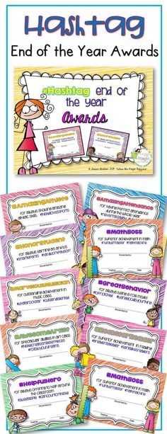 Classroom Awards Make Kids Feel Special! Pinterest Certificate