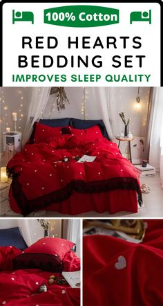 Lace Bedding, Cotton Bedding, Bedding Sets, Easy Home Decor, Cozy Bed, Organizing Your Home, Cotton Lace, Bedroom Decor, Master Bedroom