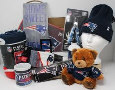 Fan-gear gift box of 8 New England Patriots Products, best gift of NFL licensed team souvenirs, Fan-gear at GREAT VALUE! Canada's sports gift boxes, combos available in CAD or build your OWN BOX! Certificate Of Achievement, Sports Gifts, Fan Gear, New England Patriots, Nfl, Best Gifts, Fans, Content, Products