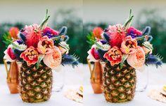 Resultado de imagem para decoração festa papel abacaxi