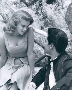 The lovely Ann Margret....oh...and Elvis...