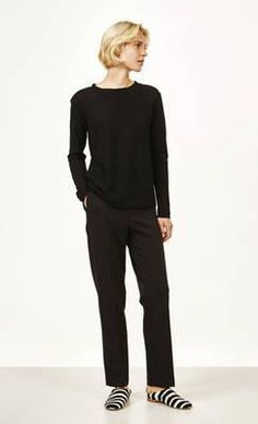 Via shirt - black