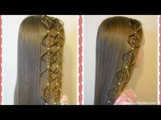 Interlocking Floating Bubble Braid Hairstyle   Hairstyles For Girls - Princess…
