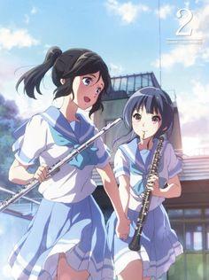 Massive fan of anime, manga and visual novels. Kyoani Anime, Yuri Anime, Anime Music, Anime Art, Anime Japan, Anime Best Friends, Friend Anime, Japanese Novels, Anime School Girl