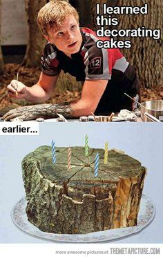 Wood cake!