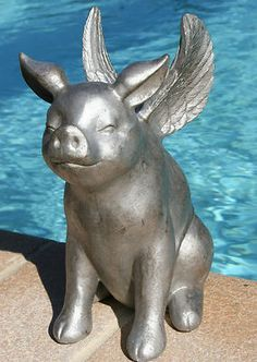 Flying pigs on Pinterest   Flying Pig, Pigs and Piggy Bank