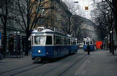 Trams network is an indispensable public transport in the city of Zurich in Switzerland.
