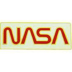 """Red NASA Logo Pin 1"""" by FindingKing. $8.99. This is a new Red NASA Logo Pin 1"""""""