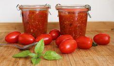Paradajková omáčka na zimu Vegetables, Food, Essen, Vegetable Recipes, Meals, Yemek, Veggies, Eten