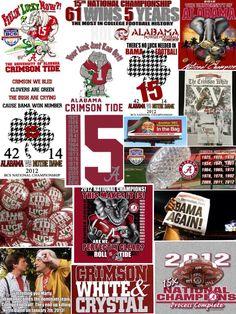 ROLL TIDE ROLL!! 2012 year #15