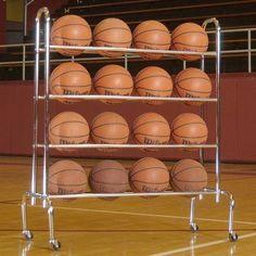 Tandem Sport 4-Tier Ball Rack - TS4TIER