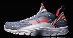 "Nike Air Trainer Huarache Low ""USA"" Another Look"