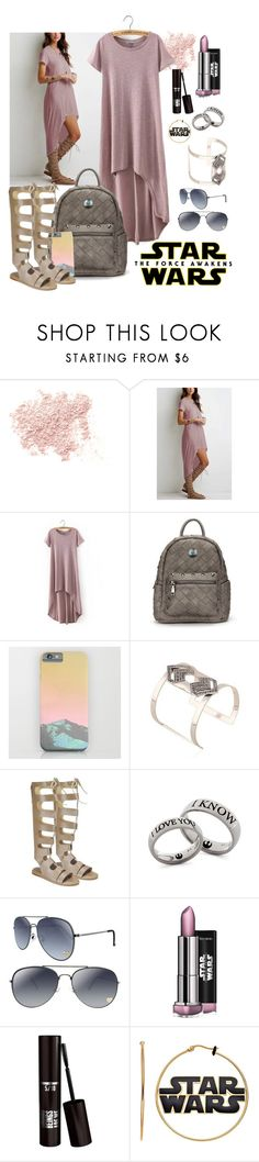 """Star Wars: The Force Awakens"" by by-jwp ❤ liked on Polyvore featuring Bare Escentuals, starwars and contestentry"
