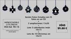 ¡LA NAVIDAD YA ESTÁ AQUÍ!  Por eso en Foto Estudio 2000 nos adelantamos y os traemos un OFERTÓN NAVIDEÑO para que le hagáis un #regalo especial a la familia. ¿OS LO VÁIS A PERDER?  #fotografía #fotógrafo #reportajes #navidad #fotoestudio #Sevilla