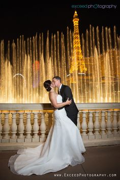 Las Vegas Strip Wedding Photo Session - Margot and Patrick - Las Vegas Event and Wedding Photographer