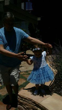 Walking with grandad
