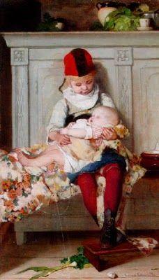 Emma Ekwall (1838-1930) Swedish  Artist