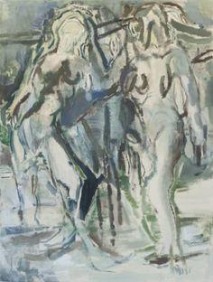 """Saatchi Art Artist Maarten van den Bos; Painting, """"Forest Conspiracy"""" #art"""
