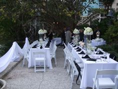 The Historic Stranahan House Museum is a beautiful outdoor waterfront venue. Wedding dinner and reception alongside the New River in Fort Lauderdale, FL