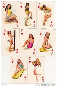 vintage playing cards - Google Search