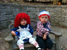 Ragedy Ann & Andy: Next year's costumes!! CUTE!