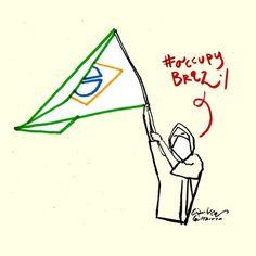 Occupy Brazil #occupybrazil #brazil #brasilia #changebrazil Download High Resolution http://www.politicalcomics.info/occupy-brazil/