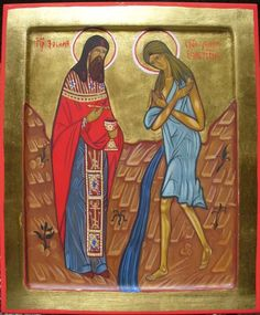 Saint Zosima (also variously Zosimus, Zosimos or Zosimas) was a holy monastic who encountered St. Mary of Egypt in the desert during the sixth century. He brought the story of her life back to the brothers at his monastery. He is commemorated on April 4, and with St. Mary of Egypt on April 1.