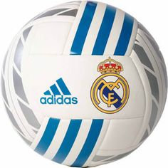 3c5bb89be adidas Real Madrid Soccer Ball – White Vivid Teal