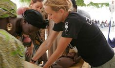 Humanitarian aid worker Hatty Barthorp started working as a roving nutritionist for Goal after studying  a public health nutrition master's ...(What I want to do after I get my degree and registration.)
