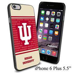 "NCAA IU INDIANA UNIVERSITY , Cool iPhone 6 Plus (6+ , 5.5"") Smartphone Case Cover Collector iphone TPU Rubber Case Black Phoneaholic http://www.amazon.com/dp/B00VVOHD6I/ref=cm_sw_r_pi_dp_XoZmvb0Z37EBP"