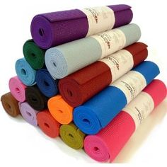 "Yoga Monster Mat 1/4""x72"" Extra Thick 17 Colors SGS Approved Non-Toxic PER No Phthalates or Latex by Bean ProductsTM"