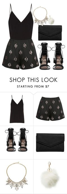 """""""Untitled #388"""" by dreamer3108 on Polyvore featuring Raey, Keepsake the Label, Zimmermann, LULUS, ABS by Allen Schwartz and Charlotte Russe"""