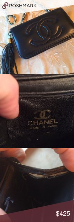 Chanel Small Shoulder Bag- stunning!!! well loved Chanel purse. The inside has leather pulling away from bag. The outside of bag is very good w a little wear on upper seams. Gorgeous. CHANEL Bags Shoulder Bags