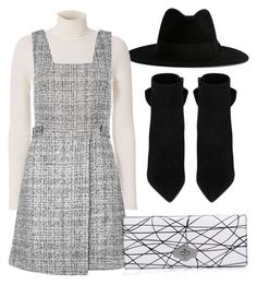 """Untitled #171"" by a-del-c on Polyvore featuring Yves Saint Laurent, A.L.C. and New Look"
