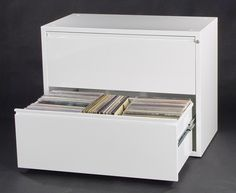 Can-Am Vinyl LP Storage Cabinet