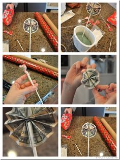 Lucky lollipops