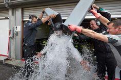 Lewis Hamilton/ALS #IceBucketChallenge