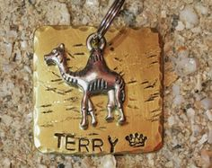 Custom Pet ID Tags handcrafted by PeartreeTags Cat Tags, Pet Id Tags, Handmade Tags, Thors Hammer, Unique Animals, Pet Collars, Pet Accessories, Etsy Seller, Pets