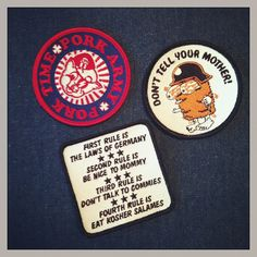 NEW PATCHES available in the PORK SHOP!