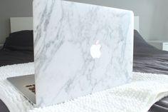 White Marble MacBook