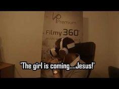 Guy reacts to VR horror movie - YouTube. #virtualreality #samsung #vr #gearvr #horror #funny