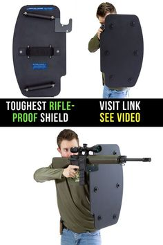 Toughest Rifle-Proof Tactical Body Shield - Gear River - Reality Worlds Tactical Gear Dark Art Relationship Goals Tactical Pen, Tactical Survival, Tactical Firearms, Police Gear, Military Gear, Weapons Guns, Guns And Ammo, Arsenal, Rifles