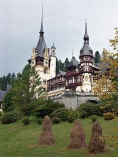 Peles Castle, Wallachia Romania #house #architecture #europe #living #history