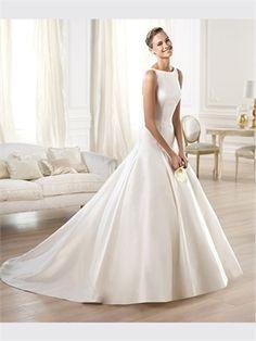 Ball Satin 2014 Wedding Dresses