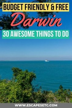 Planning a trip to Darwin for the first time? Here's 30 budget friendly and free things to do in Darwin to help you plan the best trip! Adventure Bucket List, Adventure Travel, Litchfield National Park, Darwin Australia, Kakadu National Park, Movies Under The Stars, Australia Travel Guide, Working Holidays, Free Things To Do